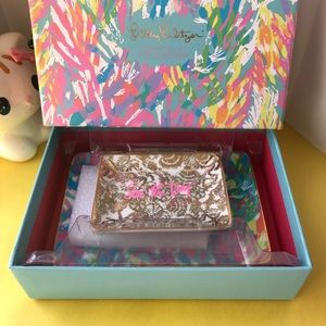 "Lilly Pulitzer Trinkett Tray Set ""Seas the Day"""